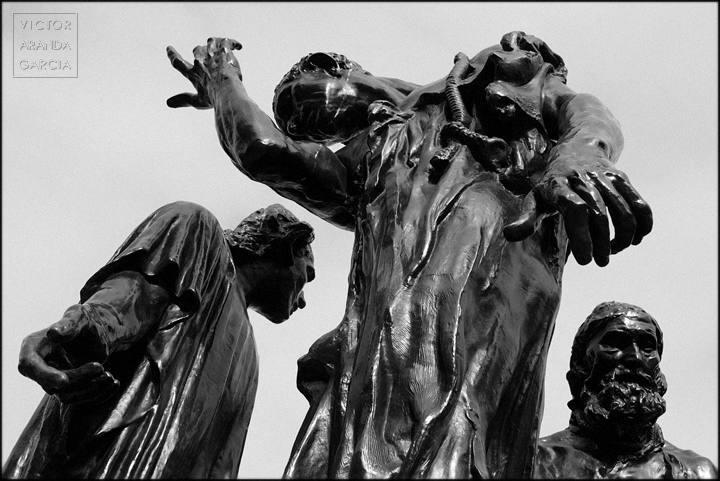 tres esculturas en londres