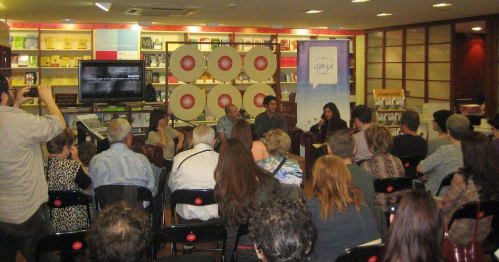 Fotografía del público asistente a la presentación del libro en Castellón
