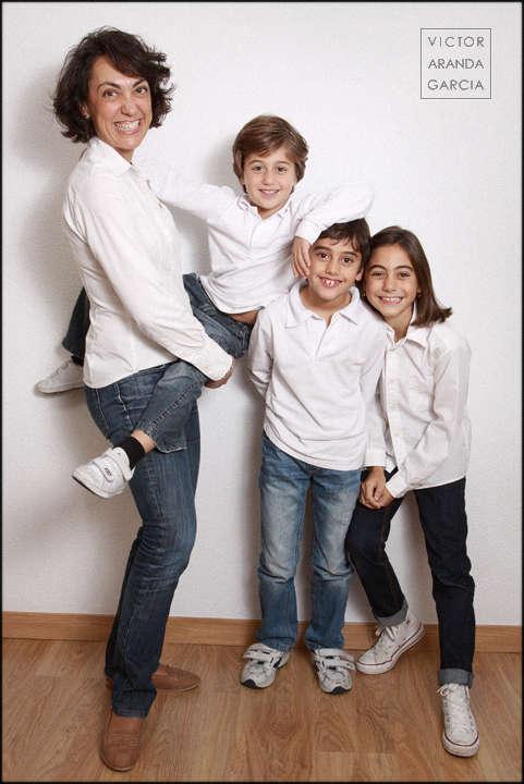 niños,foto,retrato,familia