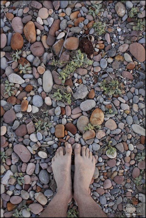 pies,suelo,piedras,serie